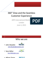 360° View and the Seamless Customer Experience v3
