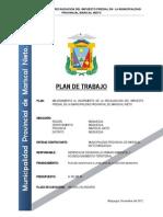 PLAN de TRABAJO Mejora Impuesto Predial