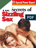 Men's Health - The Secrets of Sizzling Sex