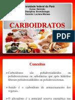 Determinação de carboidratos Bromatologia