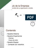 Currículo de la Empresa