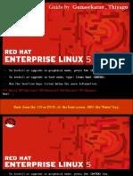Redhat Enterprise Linux (Rhel 5 ) Installation