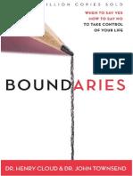 Boundaries by Henry Cloud & John Townsend, Chapter 1