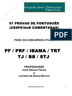 57 PROVAS COMENTADAS CESPE 2009
