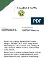 ppt Rhinnitis alergi & asma