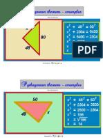 30pythagorean Theorem Examples