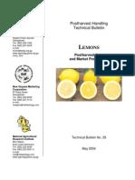 Especificaciones Comerciales Limon