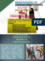 PROBLEMAS SOCIALES EN LA REGIÓN DE HUANCAVELICA