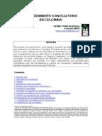 Procedimiento Conciliatorio en Colombia