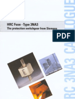 SIEMENS HRC Fuse Type 3NA3