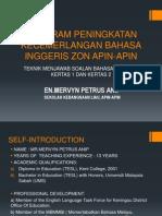 Program Peningkatan Kecemerlangan Bahasa Inggeris Zon Apin-Apin
