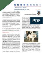 Boletim Técnico ABS Global Inc - Março 2009
