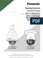 Panasonic PTZ - WV-CS 580/G
