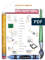 Classrom Objects - Worksheet