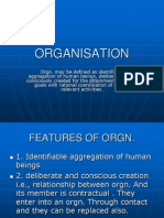 Introduction ORGANISATION