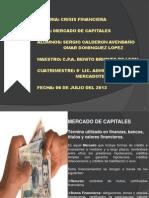 Crisis Financiera (Mercado de Capitales)