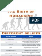 Birth of Human