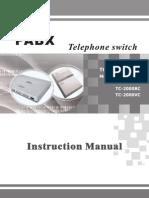 @Tc-2000c Pabx Manual