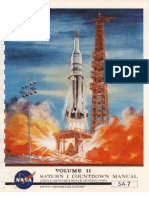 Saturn I SA-7 Rocket Countdown Manual