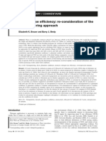 Nitrogen Use Efficiency, Re-consideration of The