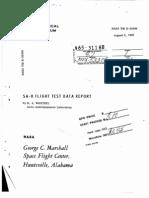 Saturn I SA-8 Rocket History