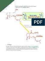 Una recopilación de las reacciones de oxidación y reducción de mayor importancia en la