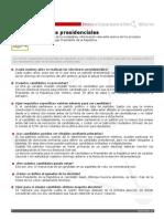 Ficha Elecciones Presidenciales