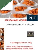 Kekurangan Vitamin a (KVA)
