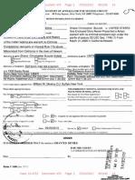 Case never presented to a Federal Grand Jury:Affidavit.california