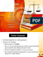 Free consent Ppt