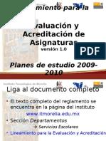 Acreditacion Planes 2010