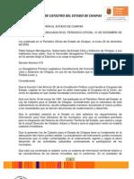 Ley de Catastro Del Estado de Chiapas 31diciembre2009