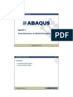 Abaqus Shell Element