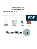 Matematicas V Calculo Semi Escolar IEMS