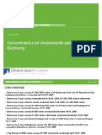 Government-Led Investments and the Future Economy