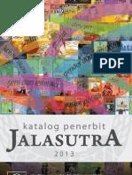 Katalog Buku Jalasutra 2013
