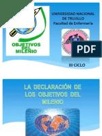 Objetivos Del Milenio.. Diapos