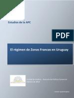 Regimen Zonas Francas Uruguay
