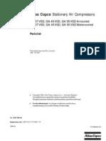 Atlas Copco GA 45VSD_Parts List