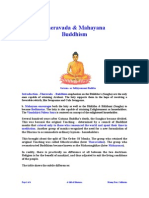 Theravada vs Mahayana
