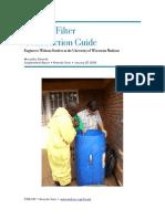 Biosand Filter Construction Guide Copy