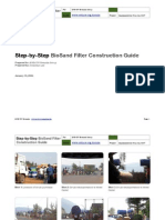 Step-By-Step BioSand Filter Construction Guide Copy
