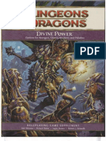 D&D 4th Edition - Divine Power