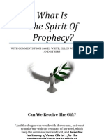 What is the Spirit of Prophecy? (SDA Edition) by Trent R. Wilde
