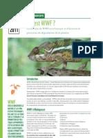WWF MWIOPO - Qui est WWF? Factsheet June 2011