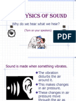 Physics of Sound1