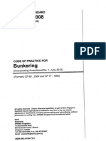 Ss 600 Code of Practice for Bunkering
