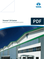 Trisomet 333 Insulated Cladding Panel Brochure