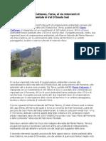 Flavio Cattaneo, Piemonte, avviati interventi di compensazione ambientale