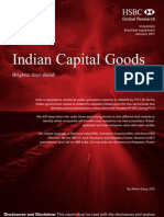 Indian Capital Goods- Hsbc Jan 2011